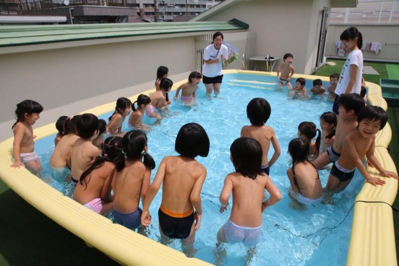 幼稚園児 全裸 プール 幼稚園プール裸投稿画像615枚